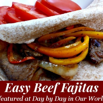 Easy Beef Fajitas for a Quick Dinner