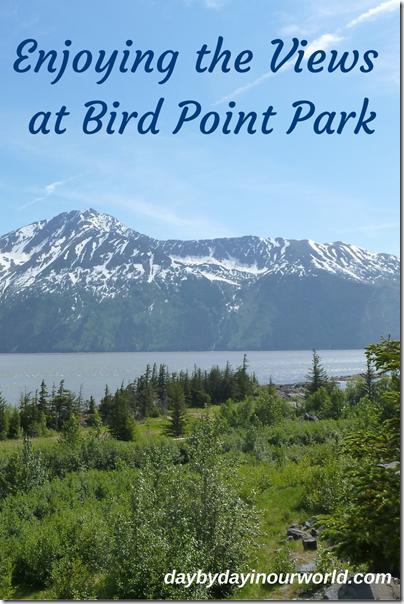 Enjoying the Views at Bird Point Park