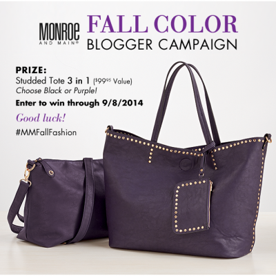Add Color to Your Fall Wardrobe with Monroe and Main