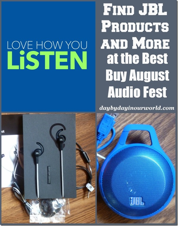 Find JBL Products and more at the Best Buy August Audio Fest
