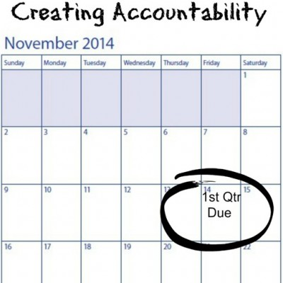 Homeschooling High School ~ Creating Accountability