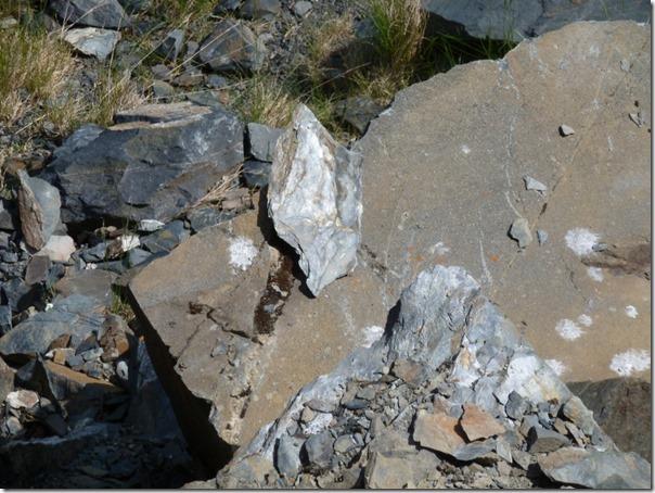 Observing Rock Formations Bird Point Alaska