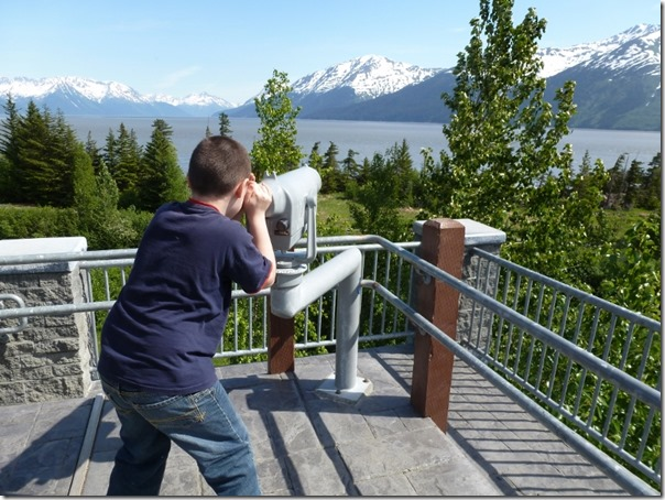 Looking Across Turnagain Arm Bird Point Alaska