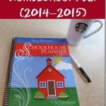 Planning the Homeschool Year (2014–2015)