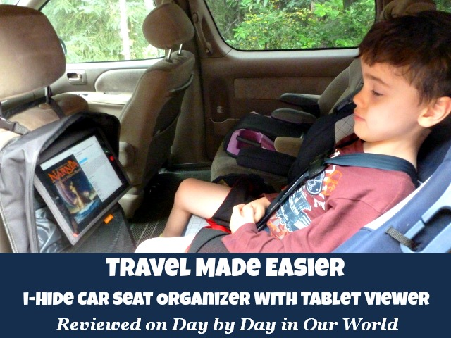 Travel Made Easier iHide Car Seat Organizer Review