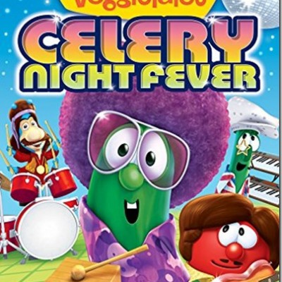Get Your Groove on with Veggie Tales Celery Night Fever
