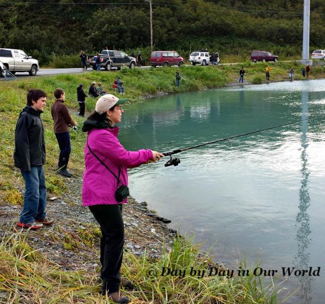 Enjoying Family Time Fishing