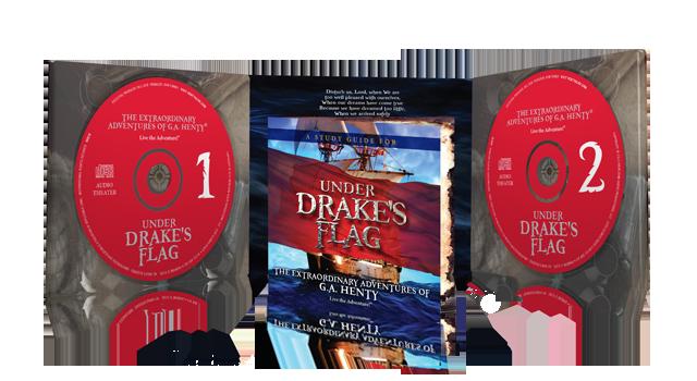 Under Drakes Flag Inside of 2 CD set