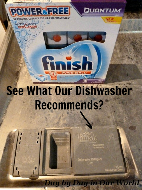 See-What-Our-Dishwasher-Recommends #SparklySavings #CollectiveBias