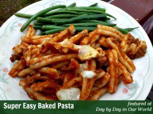 Super Easy Baked Pasta Recipe