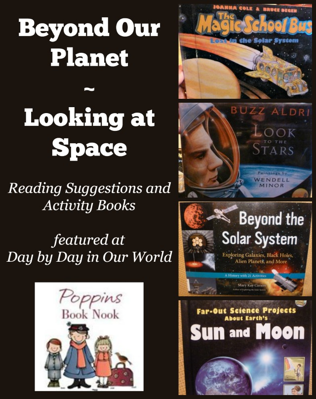 Beyond our Planet Looking at Space Poppins Book Nook Post