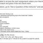 Classroom Fortuigence Submission Box Sample