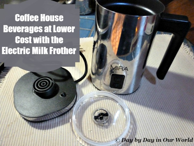 Coffee House Beverages at Lower Cost with the Electric Milk Frother
