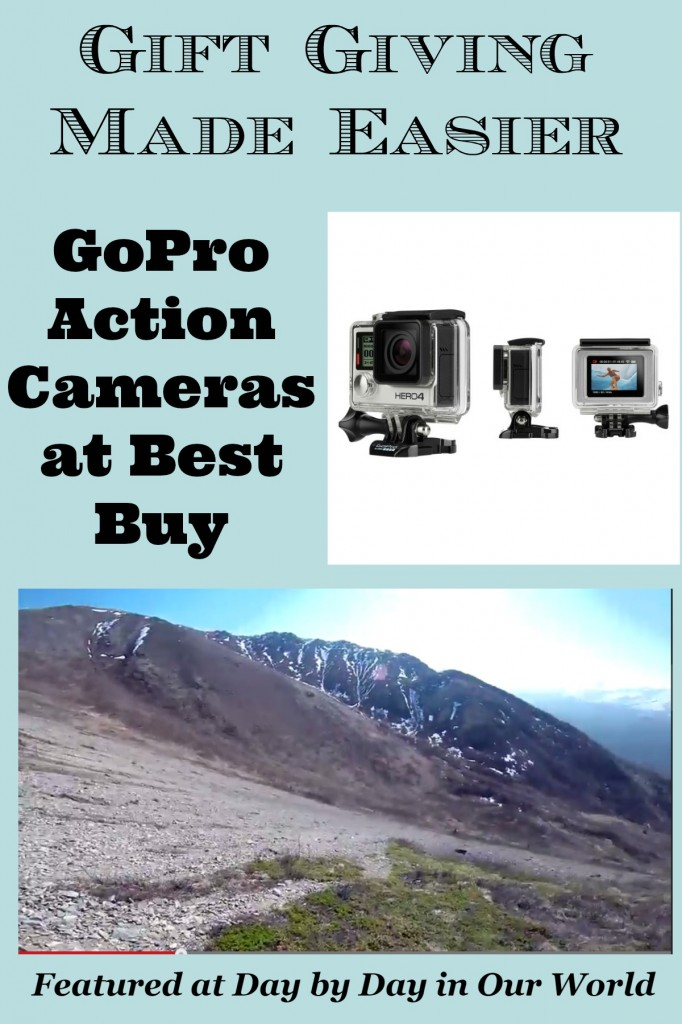 Gift Giving Made Easier with GoPro Action Cameras at Best Buy
