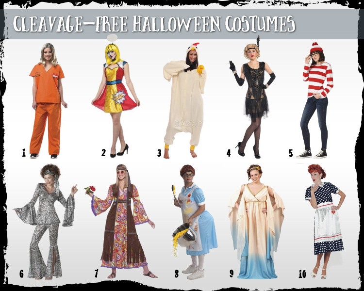 halloween costumes for women cleavage free - Modest Womens Halloween Costumes