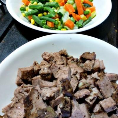 Super Easy Budget Stretching Meatloaf and Noodles