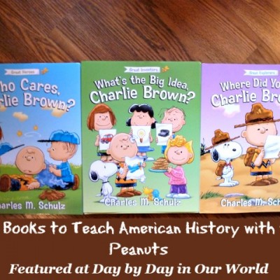 Having Fun Learning American History with Charlie Brown Books