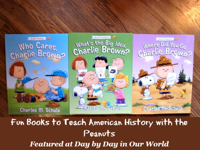Learn American History with Charlie Brown Books