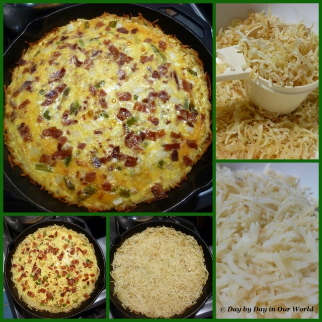 Hasbrown Quiche is Easy to Make