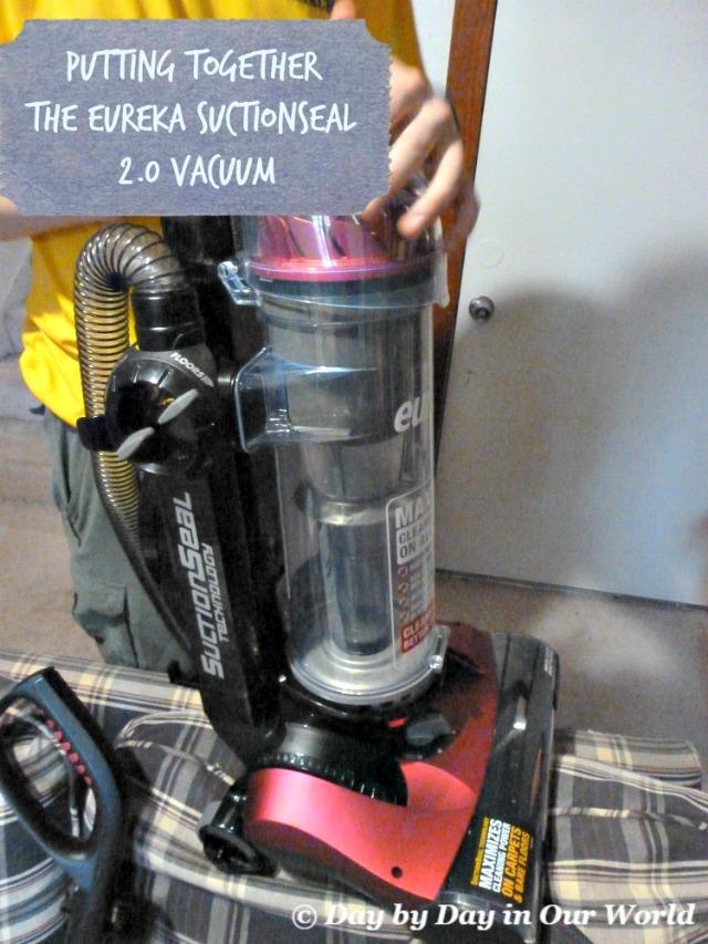 Putting Together the Eureka SuctionSeal 2.0 vacuum #EurekaPower #CollectiveBias