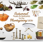 Developing a Great Thanksgiving Tablescape