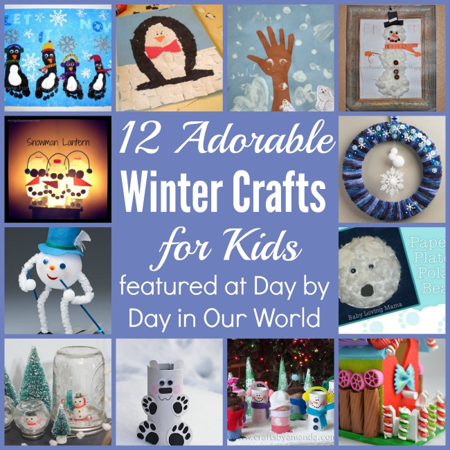 12 Adorable Winter Crafts for Kids