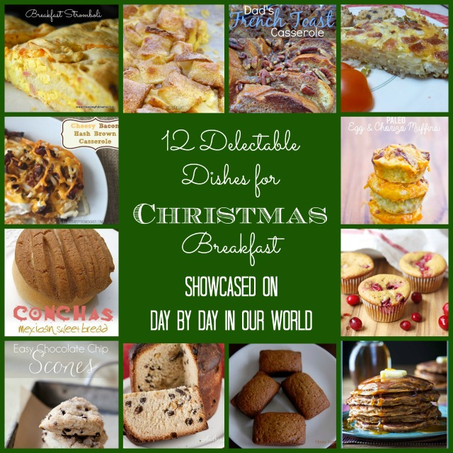 12 Delectable Dishes for Christmas Breakfast