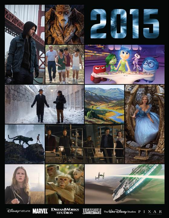 2015 Walt Disney Studios RoundUp