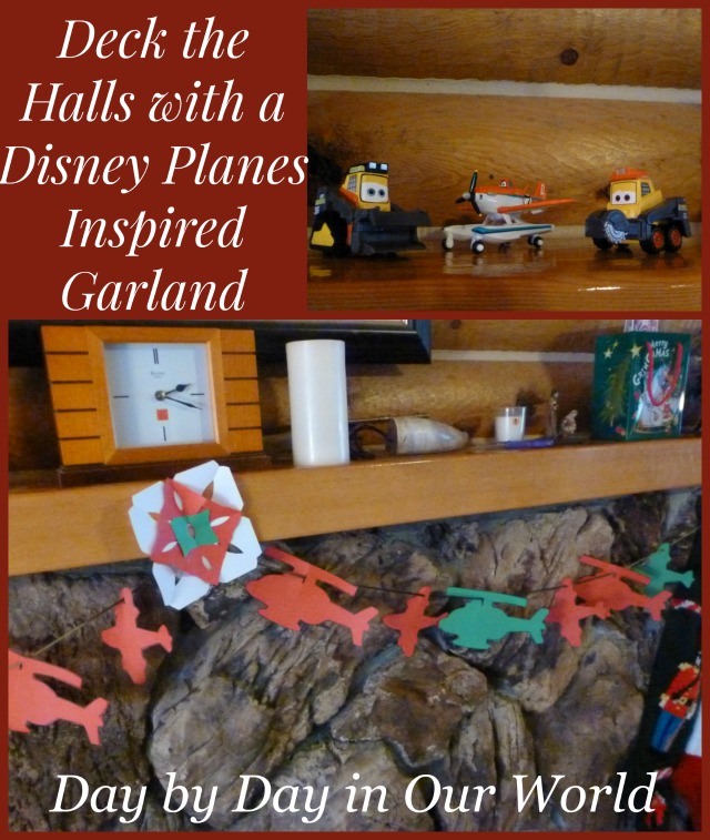 Deck the Halls with a Disney Planes Inspired Garland