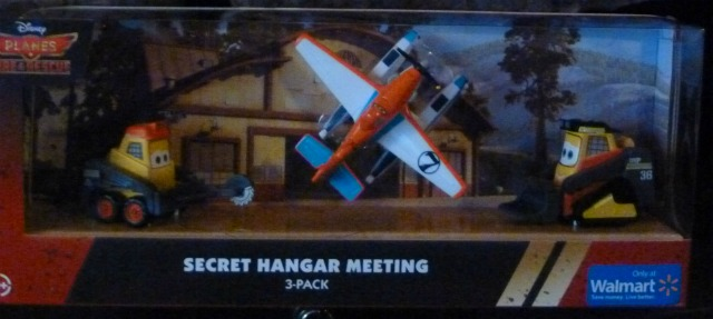 Disney Planes Fire and Rescue Secret Hangar Meeting Walmart Exclusive