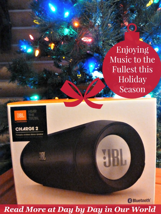 Enjoy Music to the Fullest with a portable bluetooth speaker by JBL