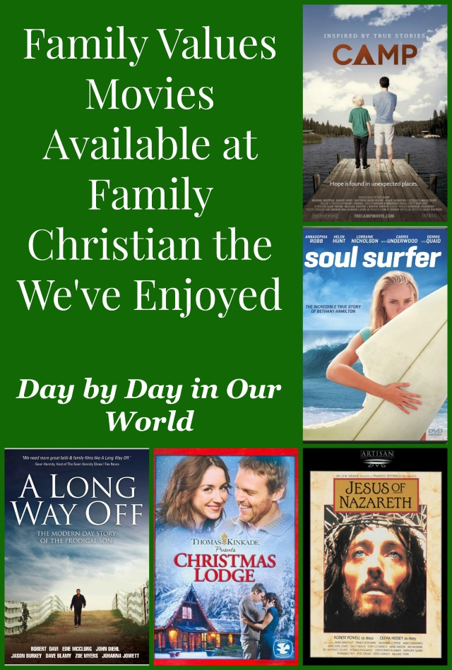 Family Values Movies Available at Family Christian the We've Enjoyed