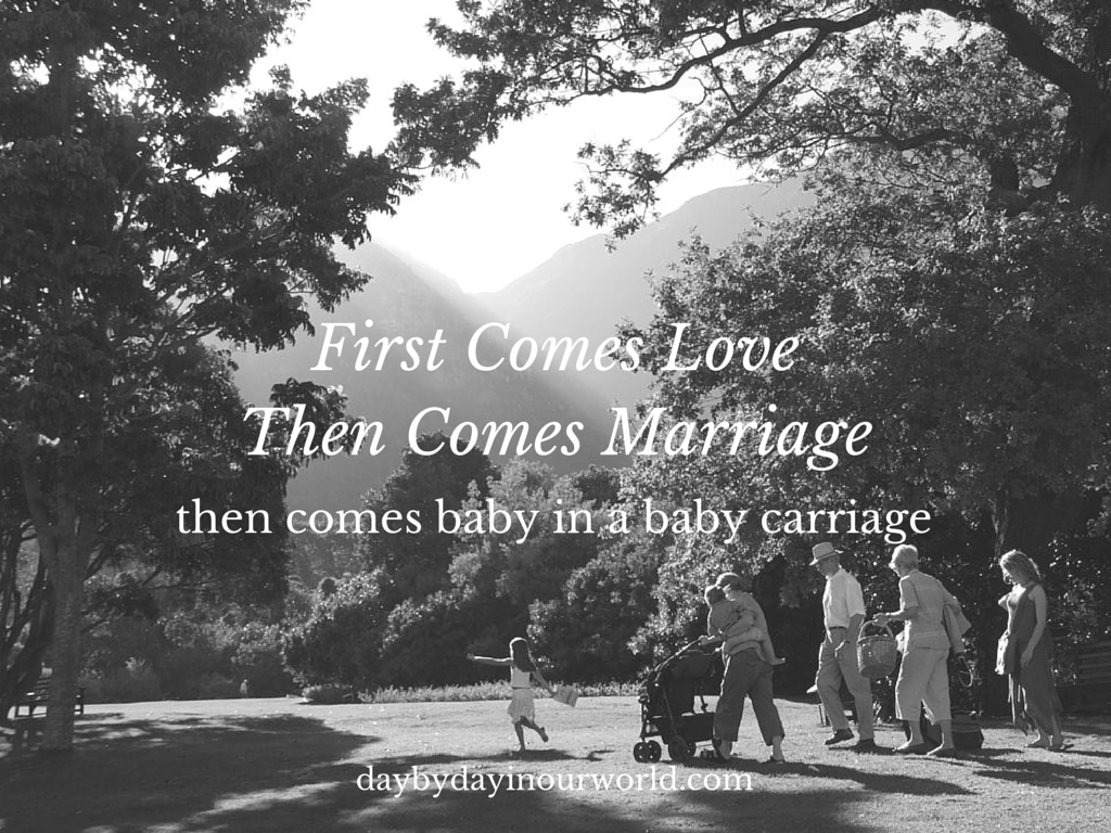 First Comes Love #TheMoodStrikes #Ad