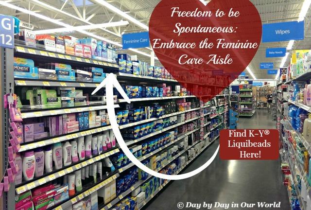 Freedom to Be Spontaneous Embrace the Feminine Care Aisle