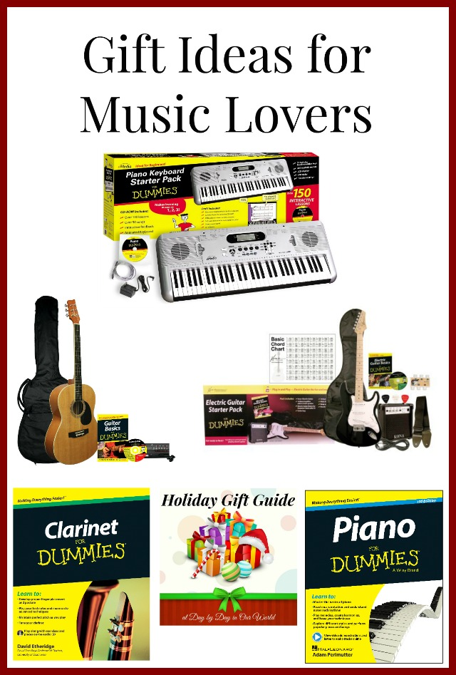 Gift Ideas for Music Lovers Featured at Day by Day in Our World