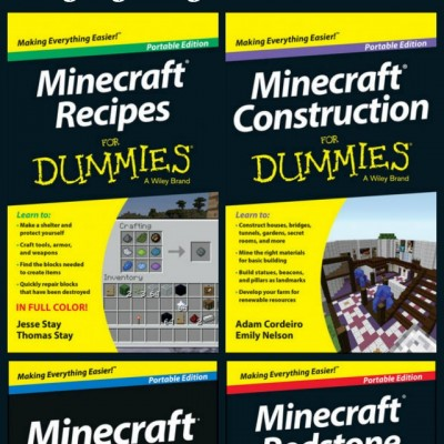 Minecraft Books from the Dummies Series