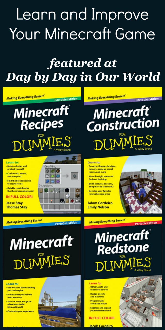 Learn and Improve Your Minecraft Game with Minecraft for Dummies
