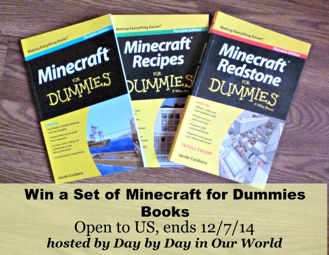 Win a Set of Minecraft for Dummies Books