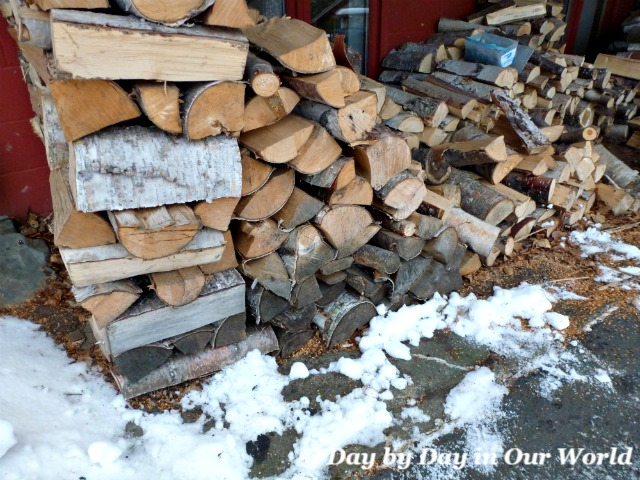 Woodpile at Our House