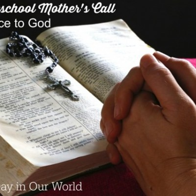 A Homeschool Mother's Call ~ Obedience to God