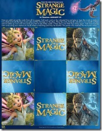 Strange Magic Matching Card Game