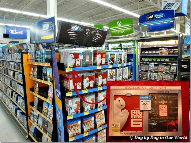 Big Hero 6 Found in Electronics Department at Walmart