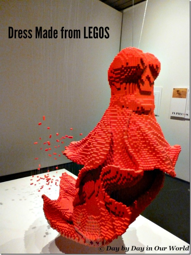 Dress Made from LEGOS