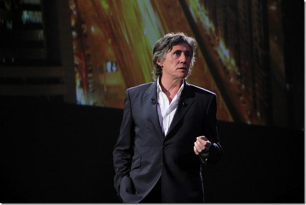 Gabriel Byrne Keynote, SAPPHIRE NOW Madrid