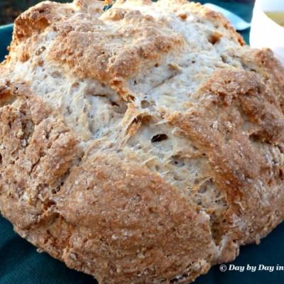 A Simple Irish Dinner: Homemade Soda Bread