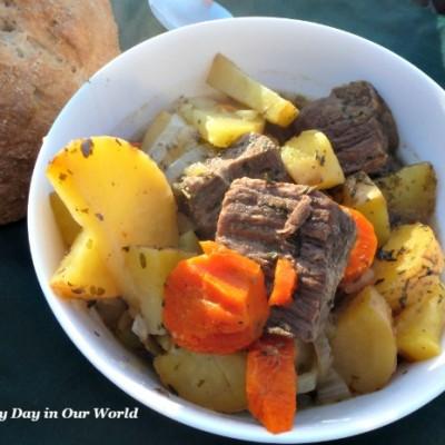 Irish Stew for a Simple Irish Dinner