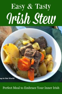 Looking for a dish to make on St. Patrick's Day or other times you want to embrace your inner Irish? Enjoy this easy and tasty Irish Stew made quickly in a pressure cooker.