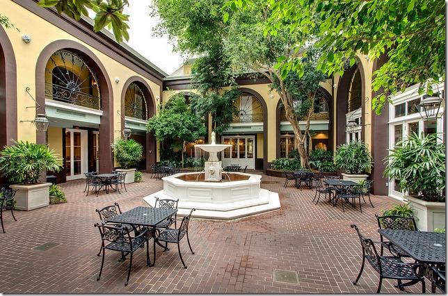 Main Courtyard Hotel Mazarin New Orleans Hotel Collection