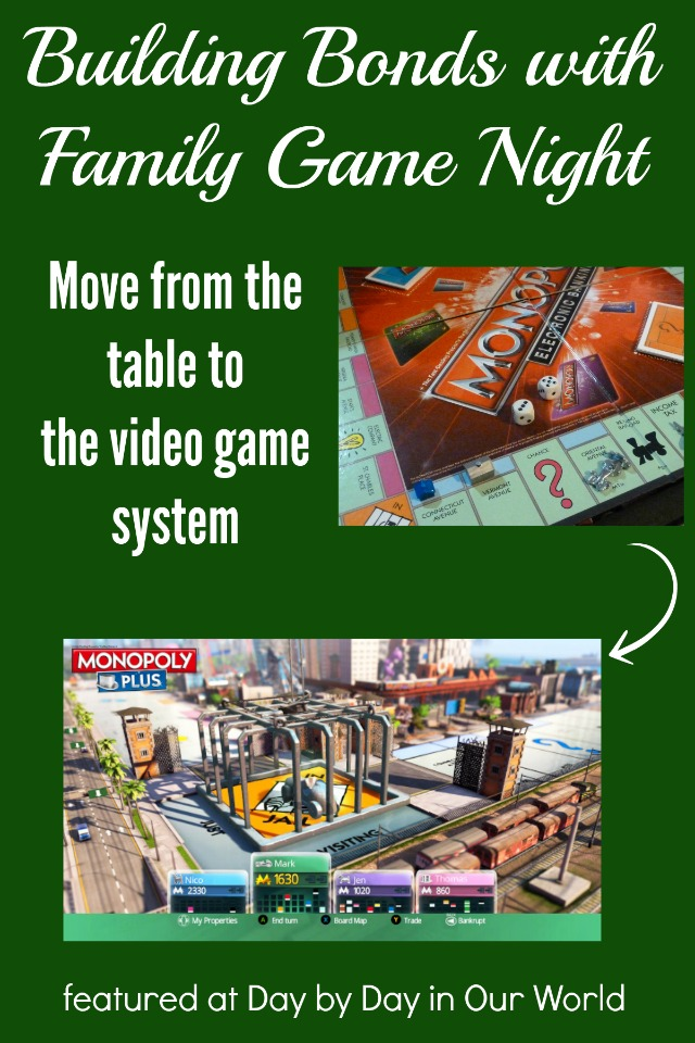 Move from the table to your video game system for family game night