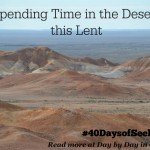 Entering the First Full Week of Lent ~ 40 Days of Seeking Him